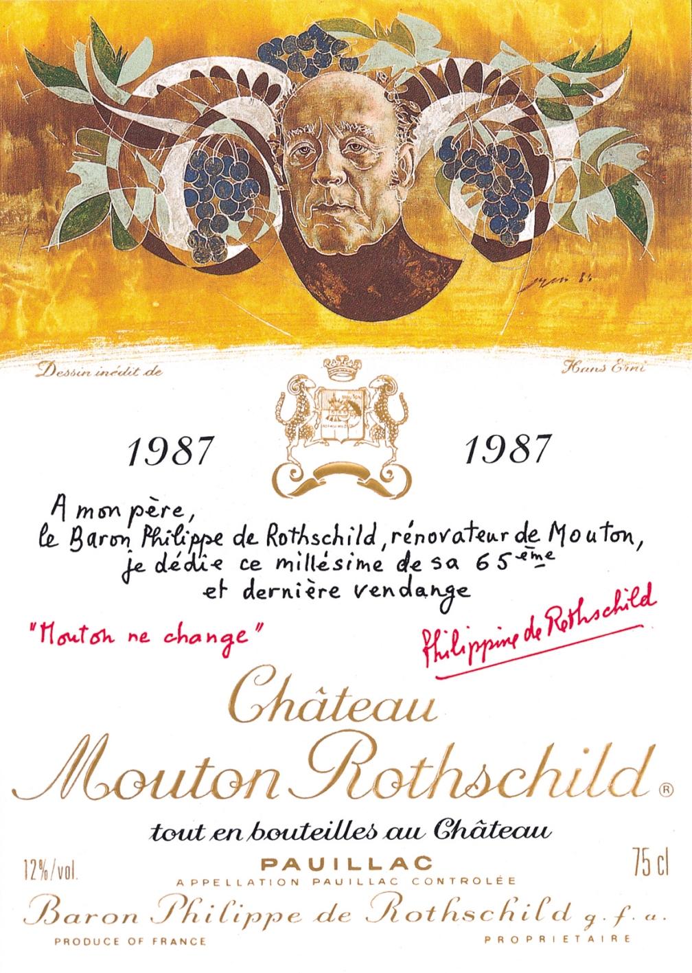 Etiquette-Mouton-Rothschild-19871
